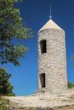 Ermitage de Saint-Jean-du-Puy. Campanile de l`ermitage de Saint-Jean-du-Puy dans le massif du Regagnas en Provence Royalty Free Stock Photo