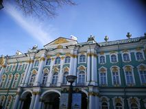 Ermitage. Art gallery in Saint-Peterburg Royalty Free Stock Photos