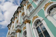 Ermitage et ciel bleu Photographie stock