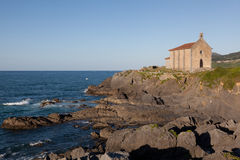 Ermitage in Mundaka Stock Photography
