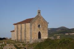 Ermitage in Mundaka, Bizkaia. Spain Stock Image