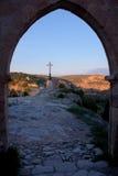 Ermitage of San Frutos. Hoces del Duraton, Segovia, Spain Stock Photo