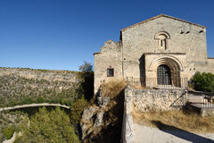 Ermitage of San Frutos, Hoces del Duraton, Segovia province, Spa Royalty Free Stock Image