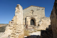 Ermitage of San Frutos, Hoces del Duraton, Stock Photography