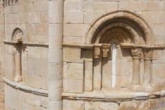Ermitage San Pantaleon de Losa Arkivbilder