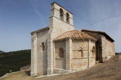 Ermitage San Pantaleon de Losa Royaltyfria Foton