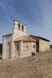 Ermitage San Pantaleon de Losa Royaltyfri Fotografi