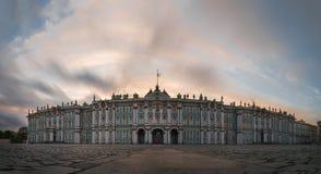 Ermitage sunset royalty free stock images