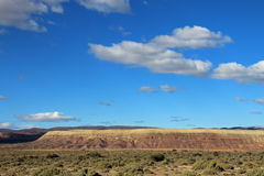 Ermo bonito no vale de Chubut, Argentina foto de stock royalty free