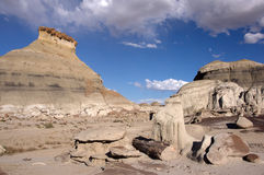 Ermo de Bisti, New mexico, EUA Imagem de Stock Royalty Free