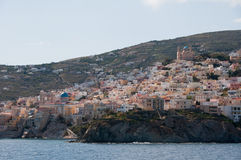 Ermoupolis, Syros island, Greece Stock Images