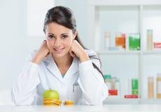 Ernährungswissenschaftler-Doktor Stockfotos