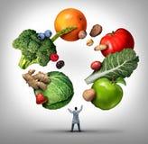 Ernährungswissenschaftler-Doktor lizenzfreie abbildung
