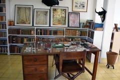 Ernest Hemingway Finca Vigia House, Kuba Lizenzfreie Stockbilder