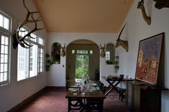 Ernest Hemingway Finca Vigia House, Kuba Lizenzfreies Stockbild