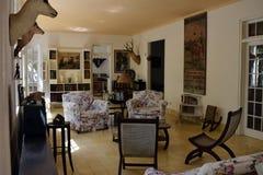 Ernest Hemingway Finca Vigia House Kuba Royaltyfri Bild