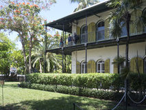 Ernest Hemingway House, Key West Royalty Free Stock Image