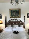 Ernest Hemingway-slaapkamer Royalty-vrije Stock Foto's