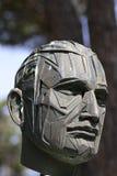 Ernest Hemingway statue in Lignano Stock Image
