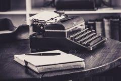 Ernest Hemingways Typewriter Stock Foto