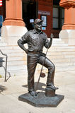 Ernest Hemmingway Statue. Image of Hemmingway Statue in Key West Florida royalty free stock photos