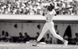 Ernest Riles, Oakland Athletics fotos de stock royalty free