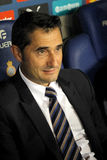 Ernesto Valverde coach of Bilbao Royalty Free Stock Image