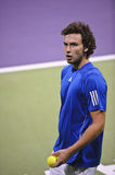 Ernests Gulbis in the ATP tennis Stock Photo