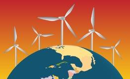 Erneuerbare Energie Stockfoto