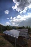 Erneuerbare Energie - Sonnenkollektor Stockbilder