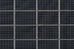 Erneuerbare Energie, Sonnenkollektoren stockfotografie