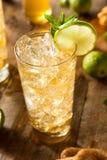 Erneuernder goldener Ginger Beer Lizenzfreie Stockfotografie