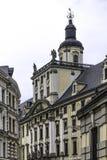 Erneuertes altes Hochschulgebäude Mathematischer Turm Stockfoto