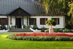 Erneuertes Landsitzhaus Stockbilder