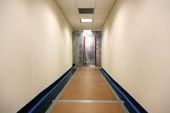 Erneuerung am Bürohaus Stockfotos