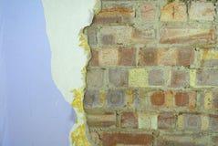 Erneuerung der Wand Lizenzfreies Stockbild