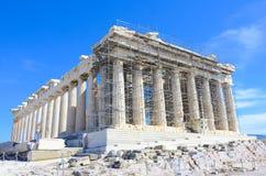 Erneuerung des Akropolis-Parthenons, Athen, Griechenland stockbild