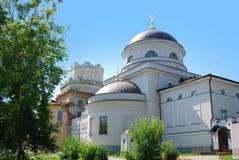Erneuerung des Klosters stockbilder