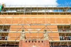 Erneuerung des Rathauses Lizenzfreie Stockbilder