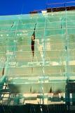 Erneuerung eines Gebäudes Lizenzfreies Stockbild