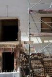 Erneuerung eines Gebäudes Lizenzfreie Stockbilder