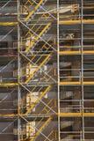 Erneuerung eines historischen Gebäudes Lizenzfreie Stockbilder