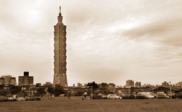 Erneuerung-im Stadtzentrum gelegene Landschaft in Taipei Stockfoto