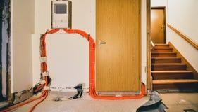 Erneuerung und Innenraum des Haupthauses oder der Wohnung umbauend stockfotos