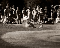 Ernie Els - Bunker Shot - 17th - NGC2010 Royalty Free Stock Images