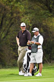 Ernie Els and Caddie Stock Photography
