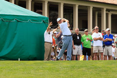 Ernie Els at the Memorial Royalty Free Stock Photography