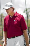 Ernie Els. On the 1st Green Royalty Free Stock Photos
