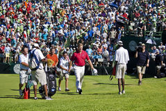 Ernie Els. On the 18th Green Royalty Free Stock Image