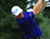 Ernie Els on the PGA tour Stock Photography